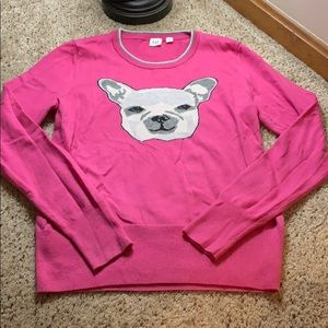 Gap French Bulldog Sweater!